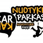 Logo nuotykiu parkas kar kar